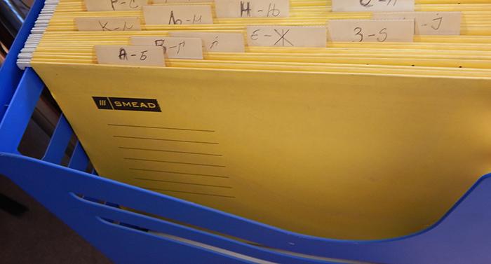 Administrative folder